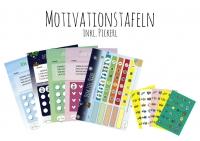 Motivationstafeln Set / 5 Stück